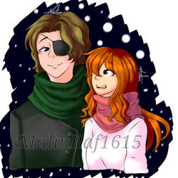 MCSM Christmas special : Jack and Petra! by MalinRaf1615
