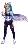 Anthro Dashie