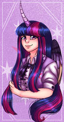 Twilight Sparkle but human