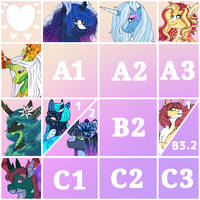 (Breedable Grid 1): Ponies and Bugs OPEN