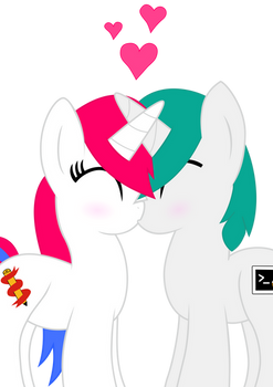'Kissing' Vectored