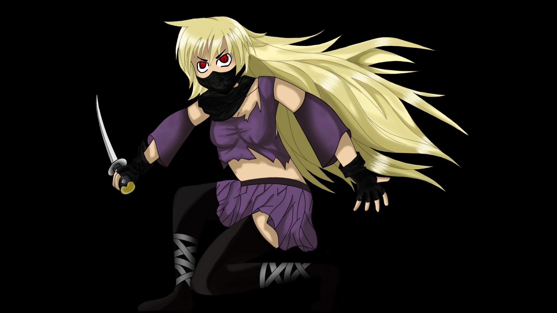 ninja assassin anime girl by mesa1337 on deviantart