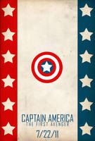 Captain America poster by SirToddingtonIII