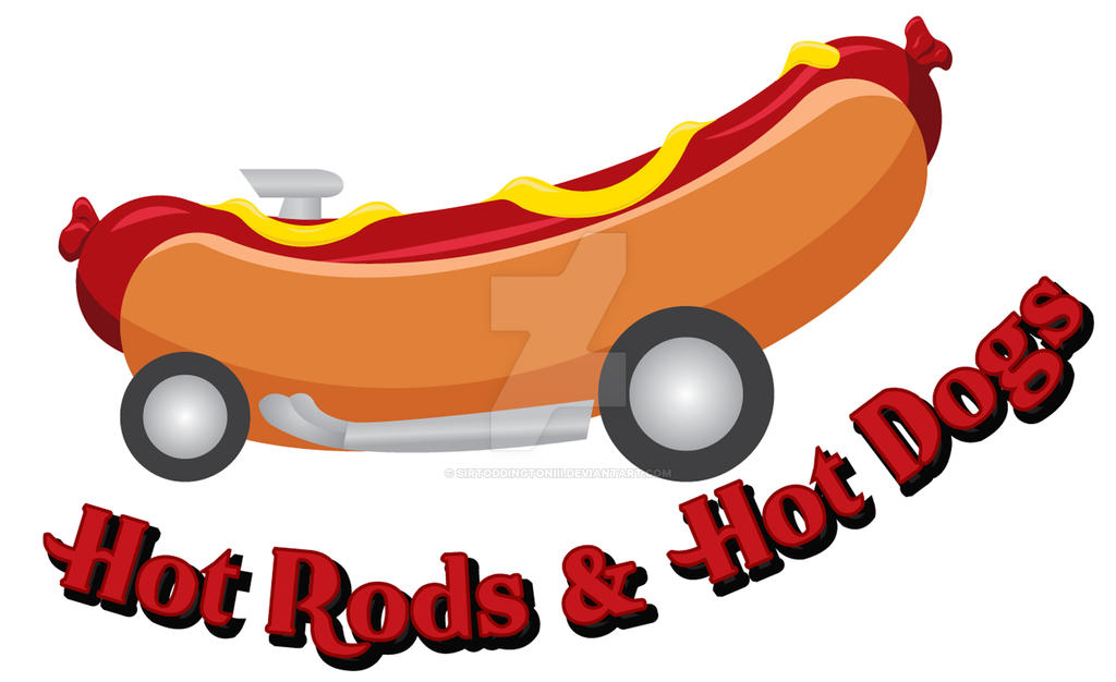 Hot Dogs and Hot Rods Logo by SirToddingtonIII