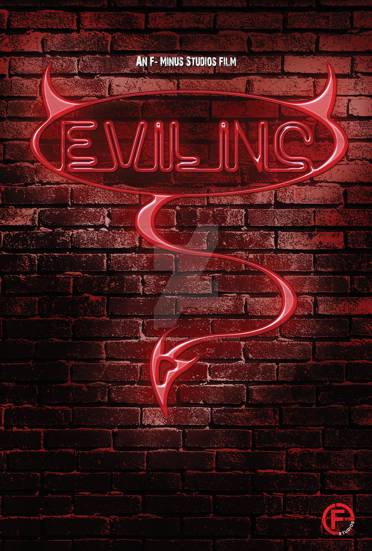 Evil Inc Neon poster by SirToddingtonIII