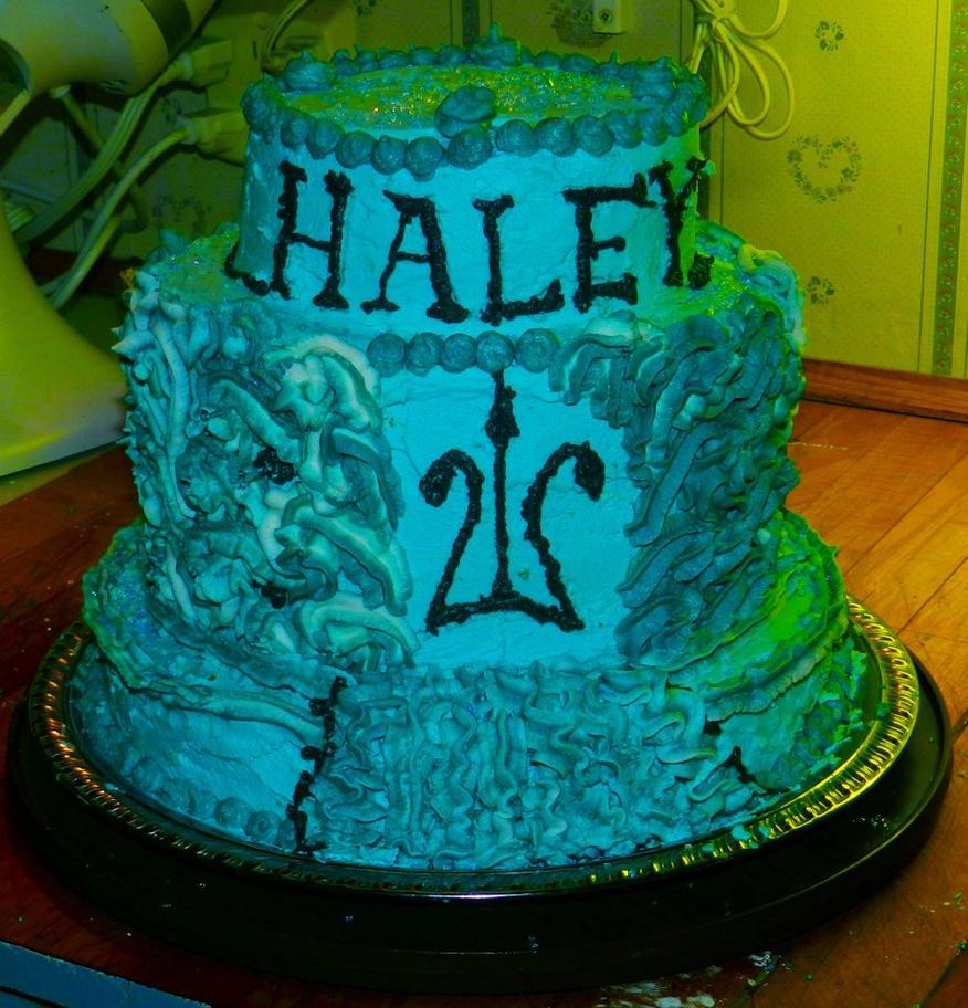 Percy Jackson Birthday Cake