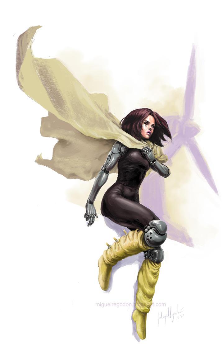 Battle Angel Alita by MiguelRegodon on DeviantArt