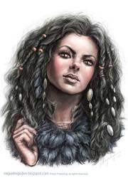 Maiden Jadrenka by MiguelRegodon