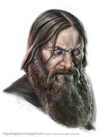 Rasputin by MiguelRegodon
