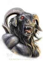 Brimorak Demon by MiguelRegodon