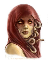 Medusa by MiguelRegodon