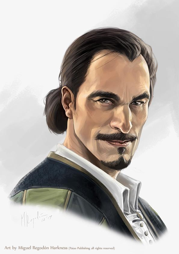 Veture-Captain Brackett by MiguelRegodon