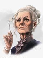 Madame Ravonge - Pathfinder by MiguelRegodon