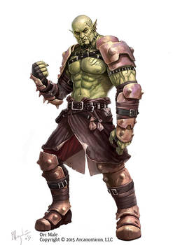 Tales of Arcana Orc Male