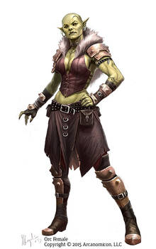 Tales of Arcana Orc Female