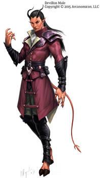 Tales of Arcana Devilkin Male