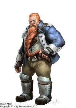 Tales of Arcana,  Dwarf Male