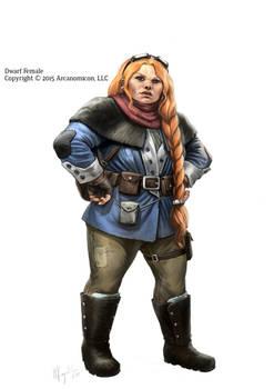 Tales of Arcana, Female Dwarf