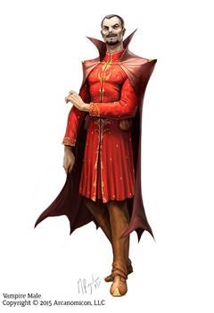 Tales of Arcana, Vampire Male