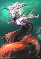 Mermaid by MiguelRegodon