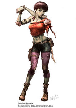 Tales of Arcana - Female Zombie