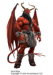 Tales of Arcana, Male Devil