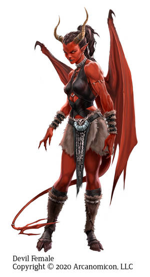 Tales of Arcana, Female Devil