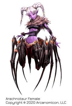 Tales of Arcana, Female Arachnotaur