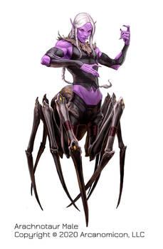 Tales of Arcana, Male Arachnotaur