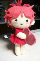 Ponyo has Ham - Plushie by CuteGio