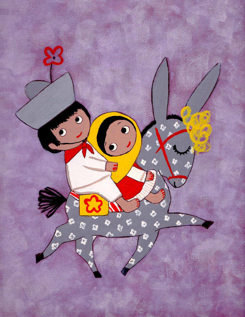 Mary Blair study - Mexico by CuteGio