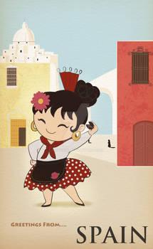 Greetings from...Spain