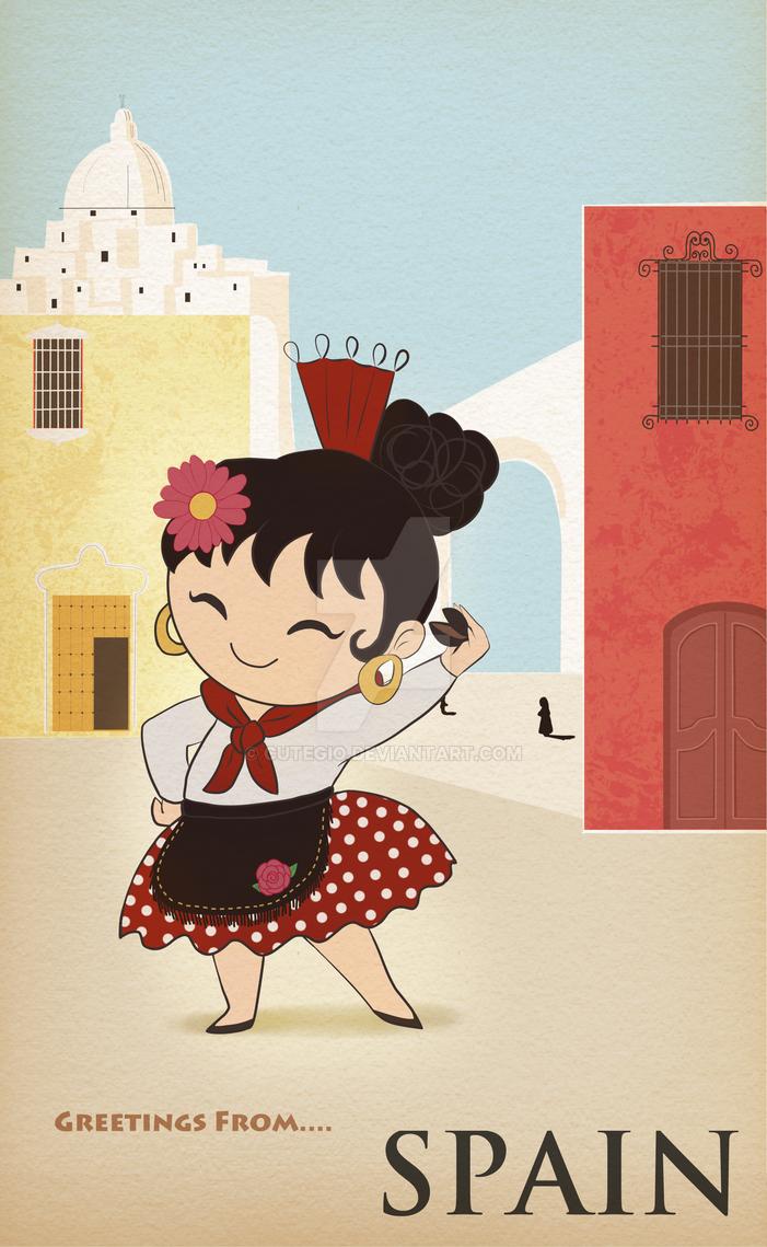 Greetings from...Spain by CuteGio