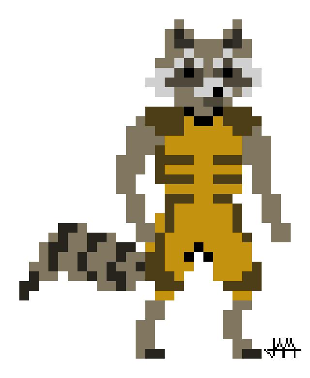 Pixel Rocket By Lupineblade On DeviantArt