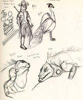 daily Sketches 91714