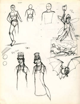 daily Sketches 92114
