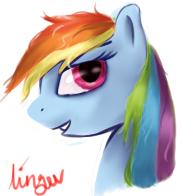 Rainbow Dash Icon by TechGamer