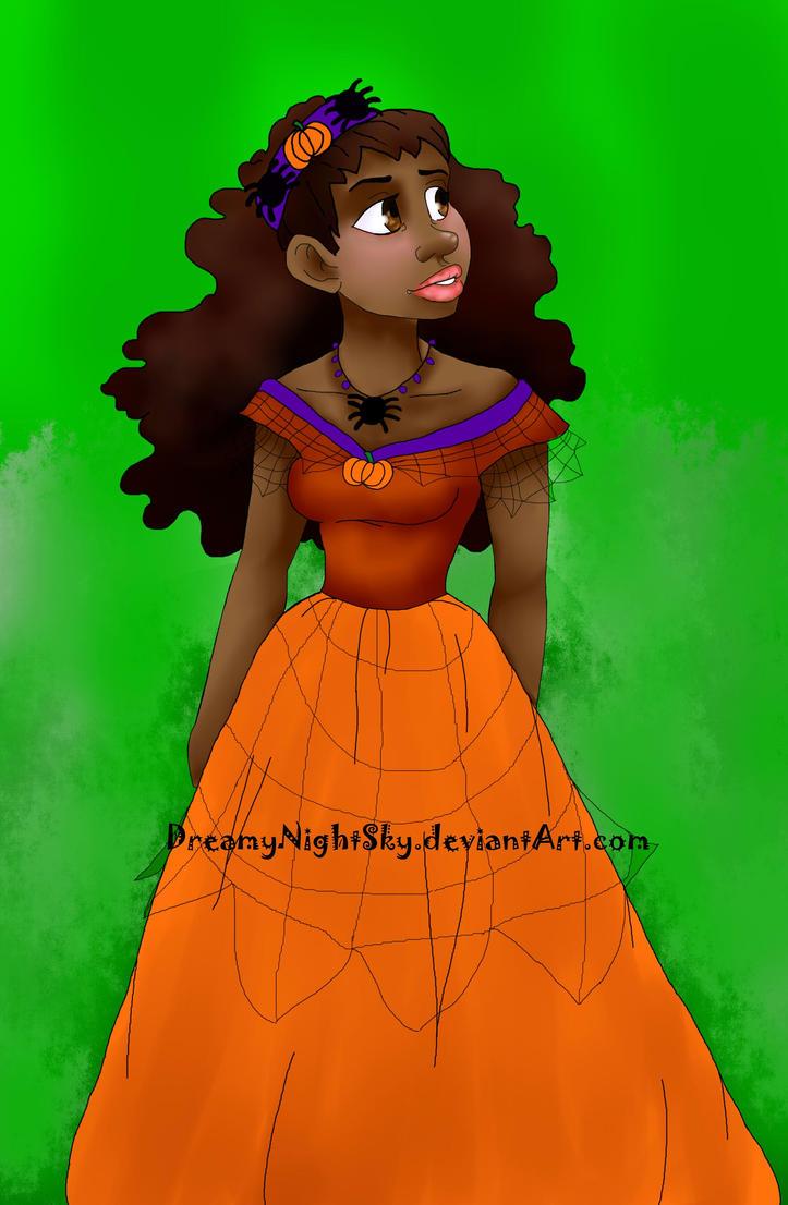 Halloween Princess by DreamyNightSky