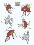 Practice pokemon sketches 6/100