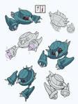 Practice pokemon sketches 9/100