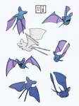 Practice pokemon sketches 12/100