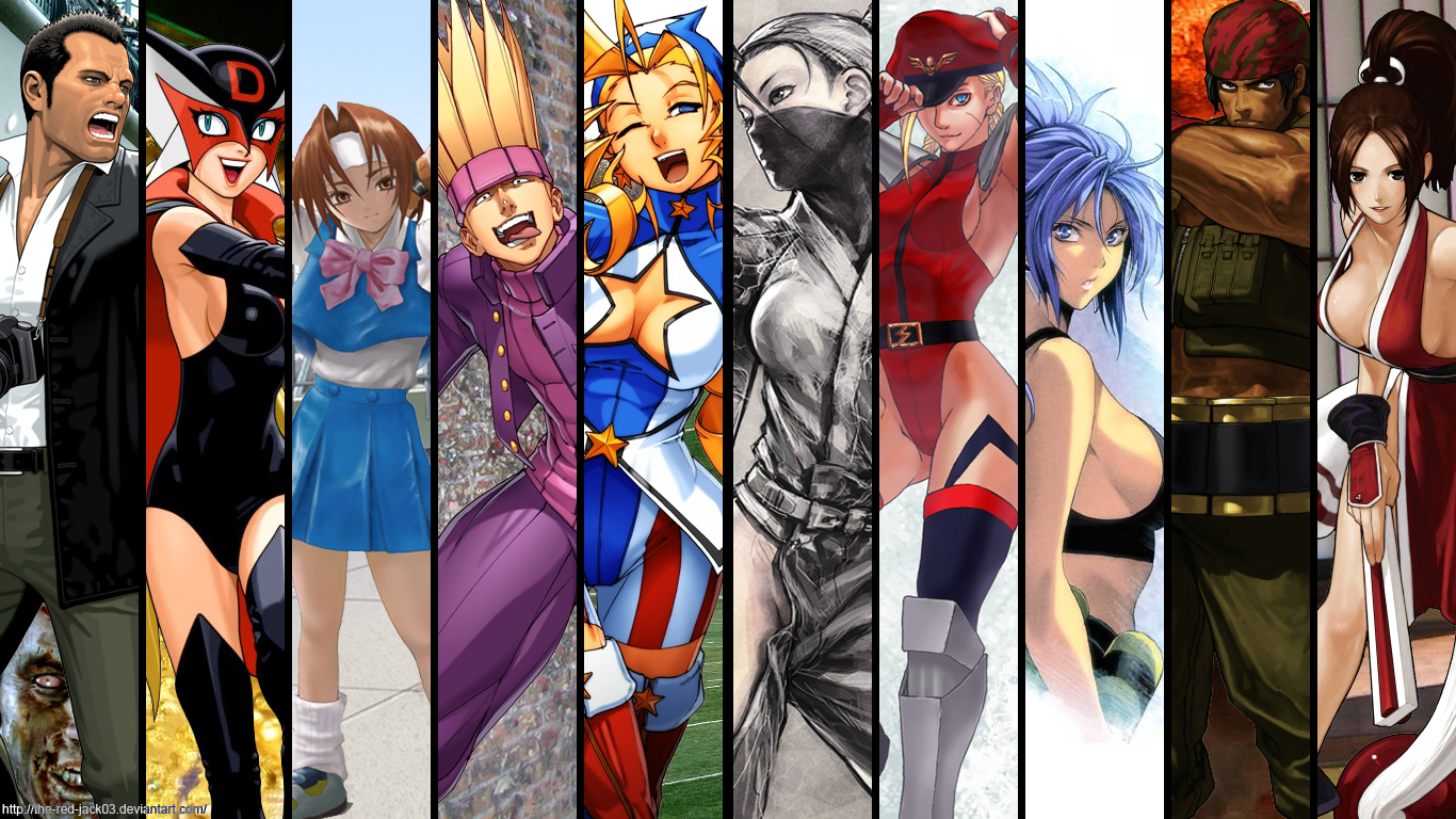 Fighting game wallpaper by the red jack03 on deviantart fighting game wallpaper by the red jack03 voltagebd Choice Image