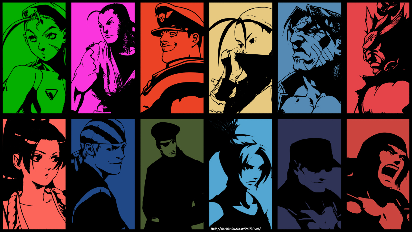 Street Fighter X King Of Fighters Wallpaper Ver A By The Red