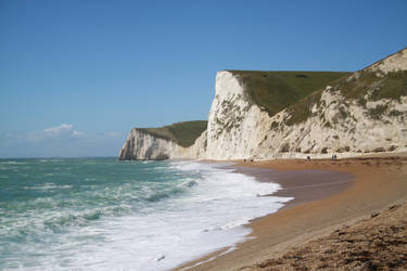 Dorset coast UK by Loves2dive