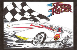speed racer in color