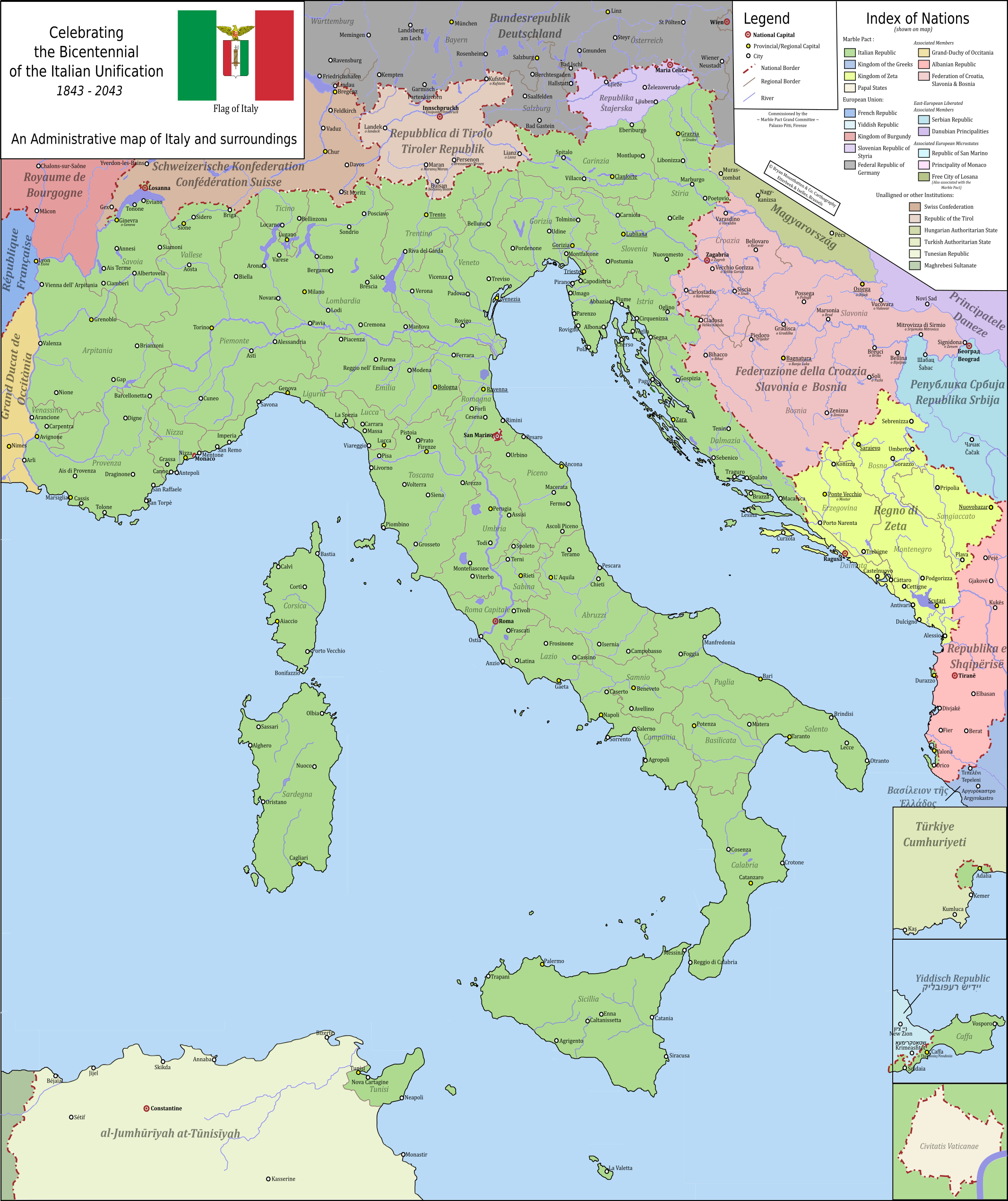 italian unification Italian unification the congress of vienna changed the borders in europe after napoleons reign the italian nation was split under different rulers but a growing sense of nationalism would.