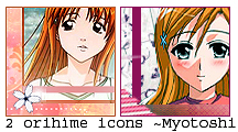Orihime icons by Myotoshi