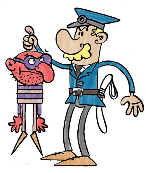 Policeman by Jaszcz