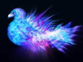 Blue Phoenix Storm by ImagineAMatrix