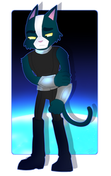 Comision 28_Avocato from Final Space REBIRTH by DeneusPhantom